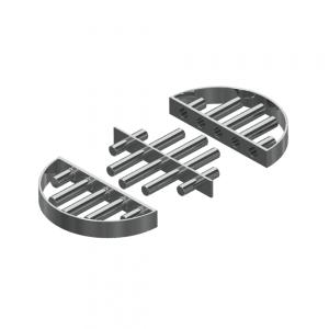 Easy Clean Magnetic Grid Separator Open