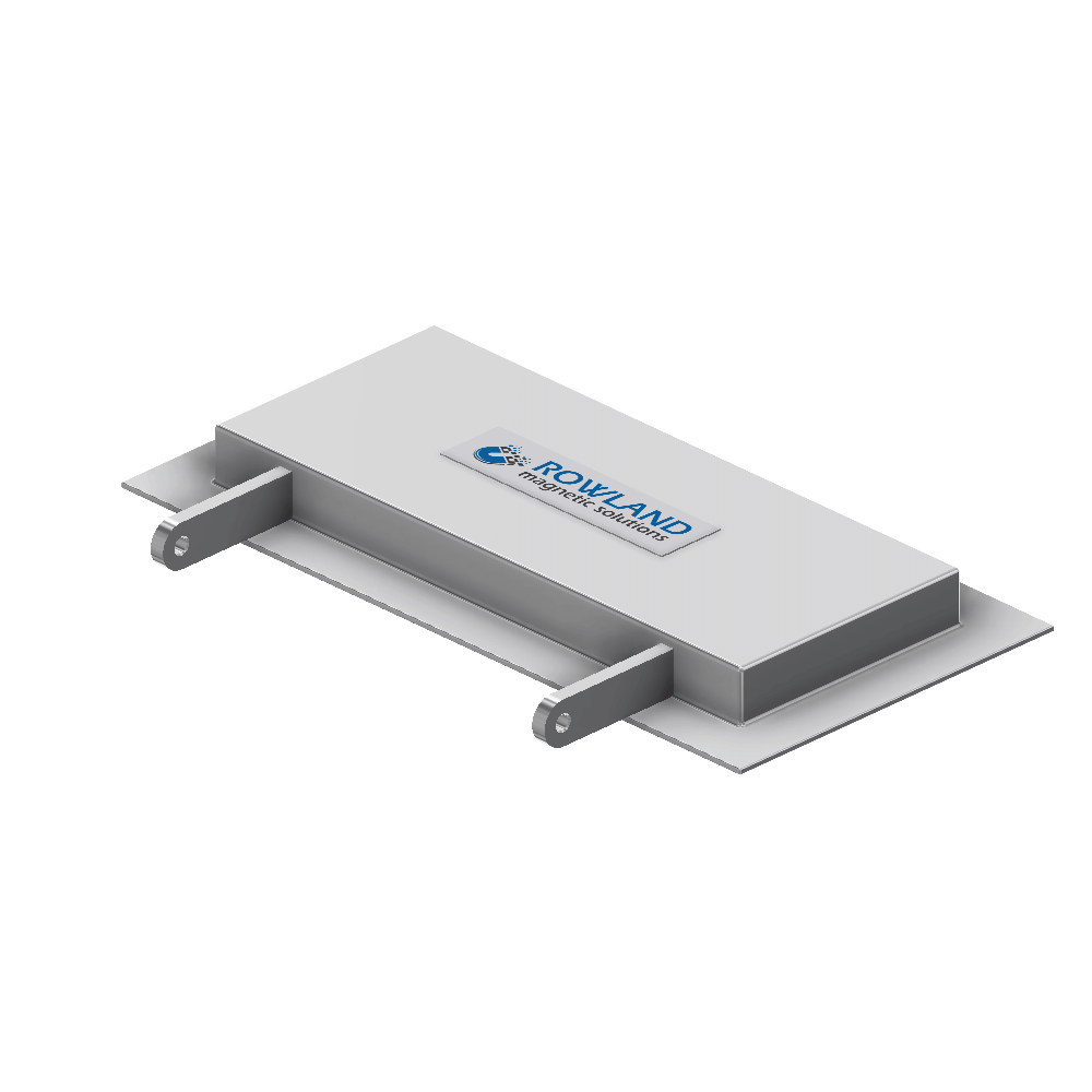 Hinged Magnetic Plate
